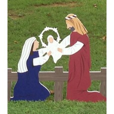The Holy Family - Colored Small