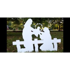 The Holy Family - Silhouette Small