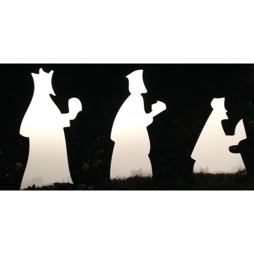 The Wise Men - Silhouette Small